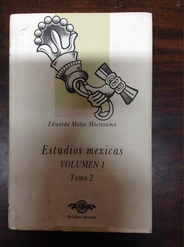 estudios mexicas volumen 1 tomo 1 y 2