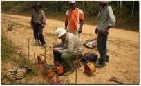 estudios para perforacion de pozos. agua subterranea.
