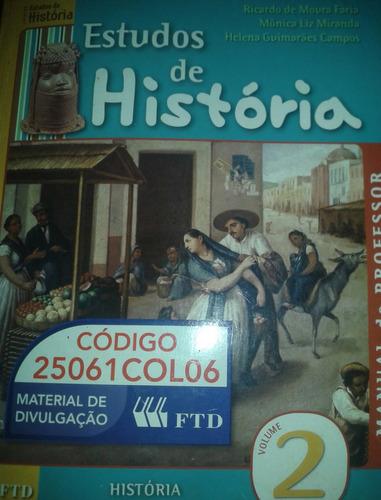 estudos de história manual do professor volume 2