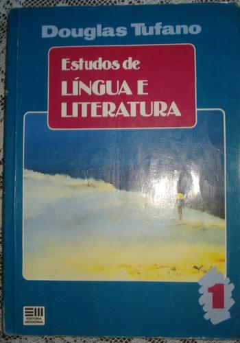 estudos de língua e literatura volume 1 douglas tufano