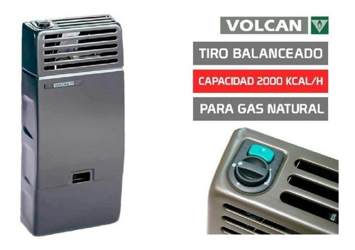 estufa 2000 kcal tiro balanceado 42312vn volcan