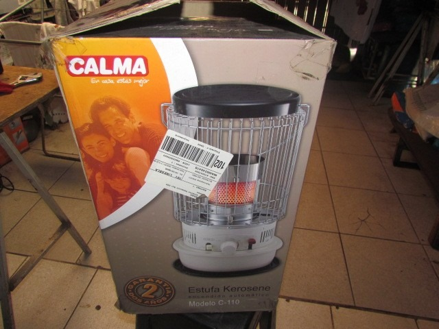 Estufa a parafina calma c 110 en mercado libre - Parafina liquida para estufas ...