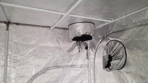 estufa cabine cultivo indoor hortosol 200x200x200 grow tent
