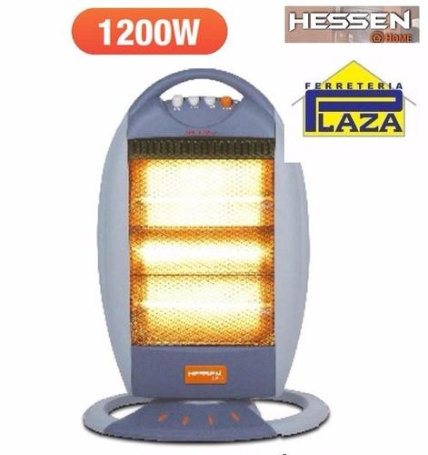 estufa calefactor halógeno giratoria hessen