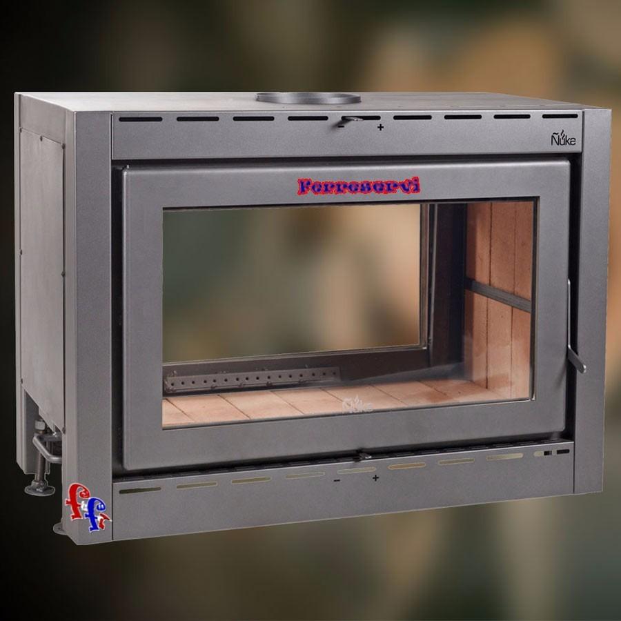Estufa calefactor insertable doble frente uke a le a for Lanin muebles