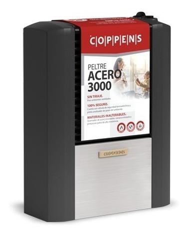 estufa calefactor sin salida coppens peltre 3000 kcal cuotas
