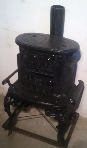 estufa calefactora de fierro fundido (nuevo)