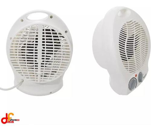 estufa caloventilador de calor microsonic y blanco 2000w dim
