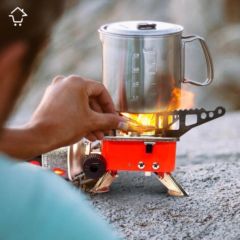 Estufa camping monta a parrilla fog n portable pipeta - Estufa camping gas ...