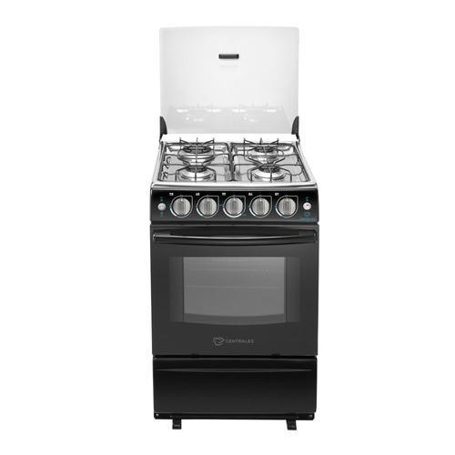 estufa centrales de piso gas de 20  horno negro ccc20sgnxn-5