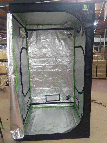 estufa cultivo indoor 120x120x215cm supremebox 1680d diamond