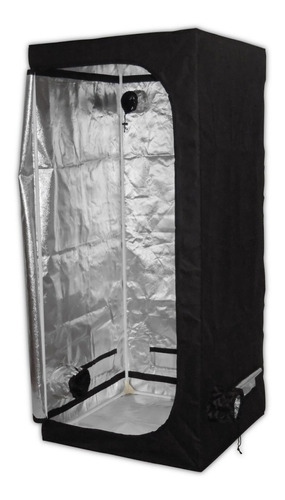 estufa cultivo indoor (grow tent) 80x80x180cm cs grow