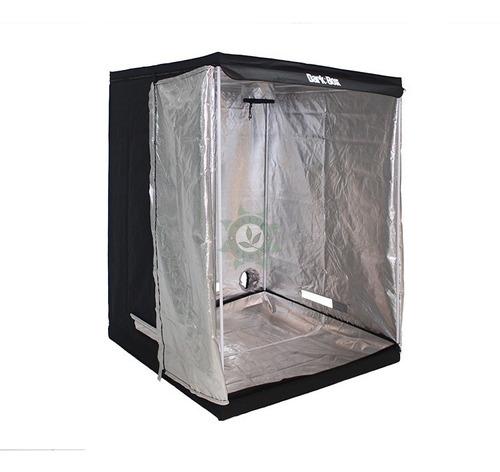 estufa dark box cultivo grow indoor 120x120x200 led