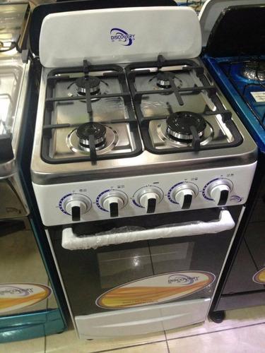 estufa de 20 discovery horno y tope de acero inoxidable