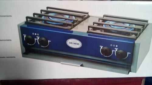 estufa de dos parrillas nueva