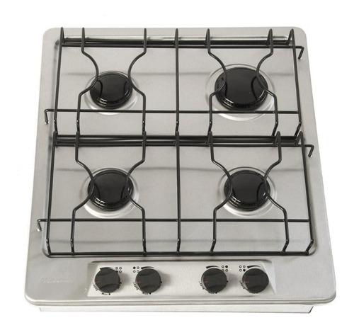 estufa de gas 4 quemadores acero inox envio gratis 12 meses