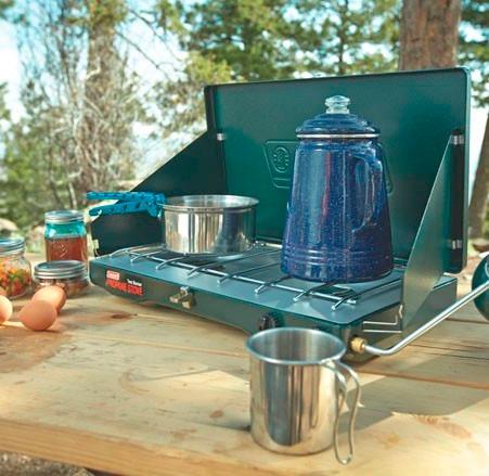 Estufa de gas portatil con regulador coleman camping - Estufa camping gas ...