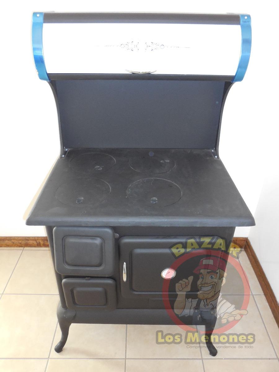 Estufa de le a con horno 100 funcional 4 en - Estufas y hornos de lena ...