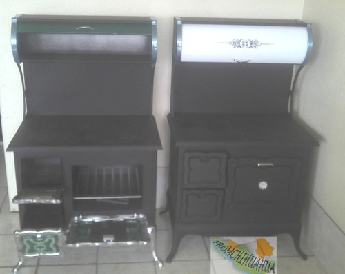 Estufa de le a dise o menonita 6 placas ke03 6 for Diseno de estufas hogar a lena