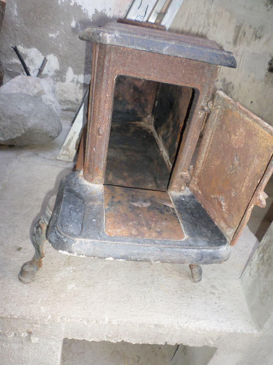 Estufa de le a fierro fundido antigua en chihuahua - Estufas de lena precios economicos ...