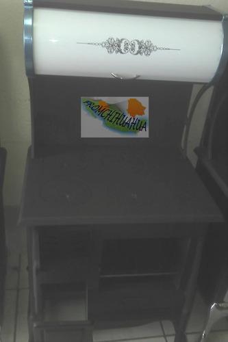 estufa de lena natural diseño menonita 4 placas ke01