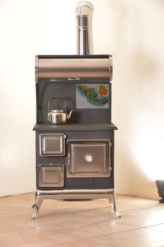 Estufa de le a natural dise o menonita 4 placas ke02v for Diseno de estufas hogar a lena