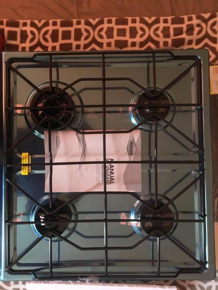 estufa de mesa haceb