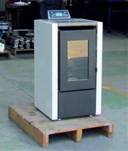 estufa de pellet bartola 6 kw. (entrega junio-18)