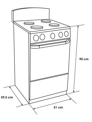 estufa de piso con horno negra, abba at 101-5n gas natural