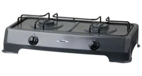 estufa  de sobremesa 57 cm 2 puestos gris haceb!!!!
