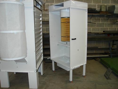 estufa e cabine pintura pó e outros