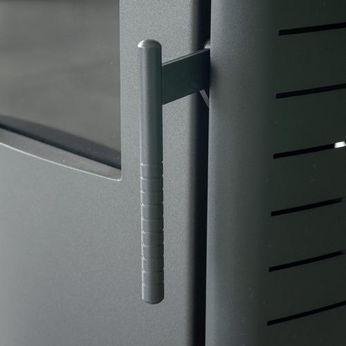 estufa ecologica bajo consumo pellets automatica lcd ep-12kw
