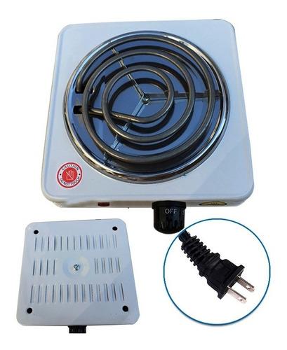 estufa eléctrica 1 puesto fogón portatil domestico camping
