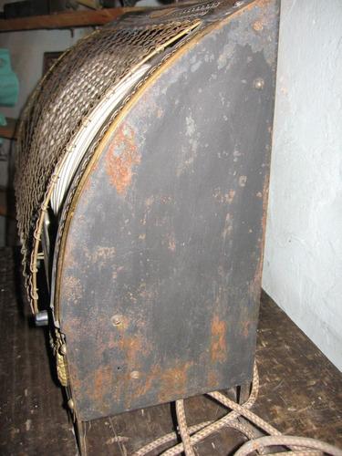 estufa eléctrica antigua
