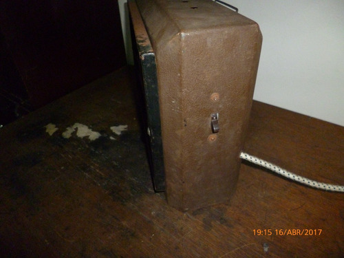 estufa electrica antigua