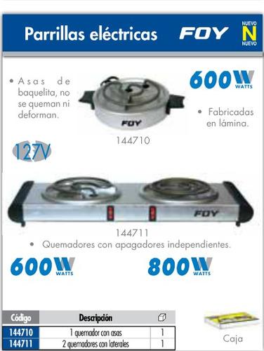 estufa electrica sencilla parrilla foy tools oferta 144710