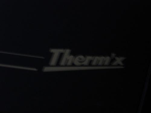 estufa empotrada (de pared) therm x