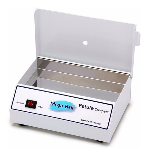 estufa esterilizadora p/ alicates de unha manicure mega bell