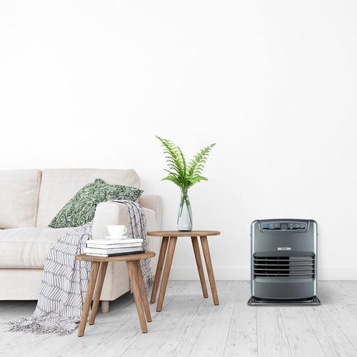 estufa fensa fhk 950 eco óptima combustión, ambientes limpio