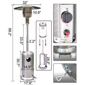 estufa gas calefactor
