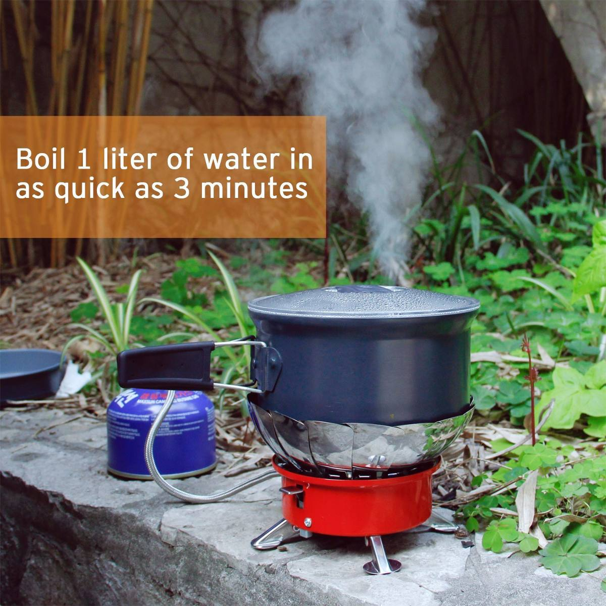 Estufa gas portatil camping acampar picnic cocinar - Estufa camping gas ...
