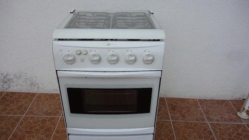 estufa iem 4 quemadores c/horno