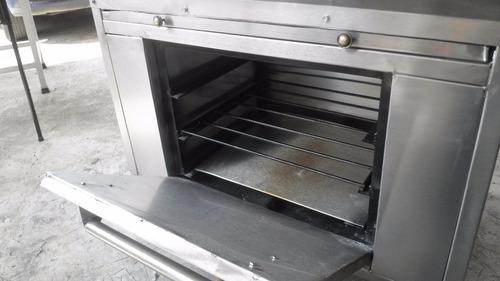 estufa industrial 6 quemadores y horno cod. vg