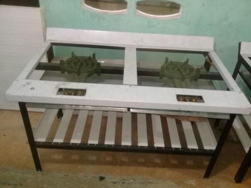estufa industrial de dos hornillas