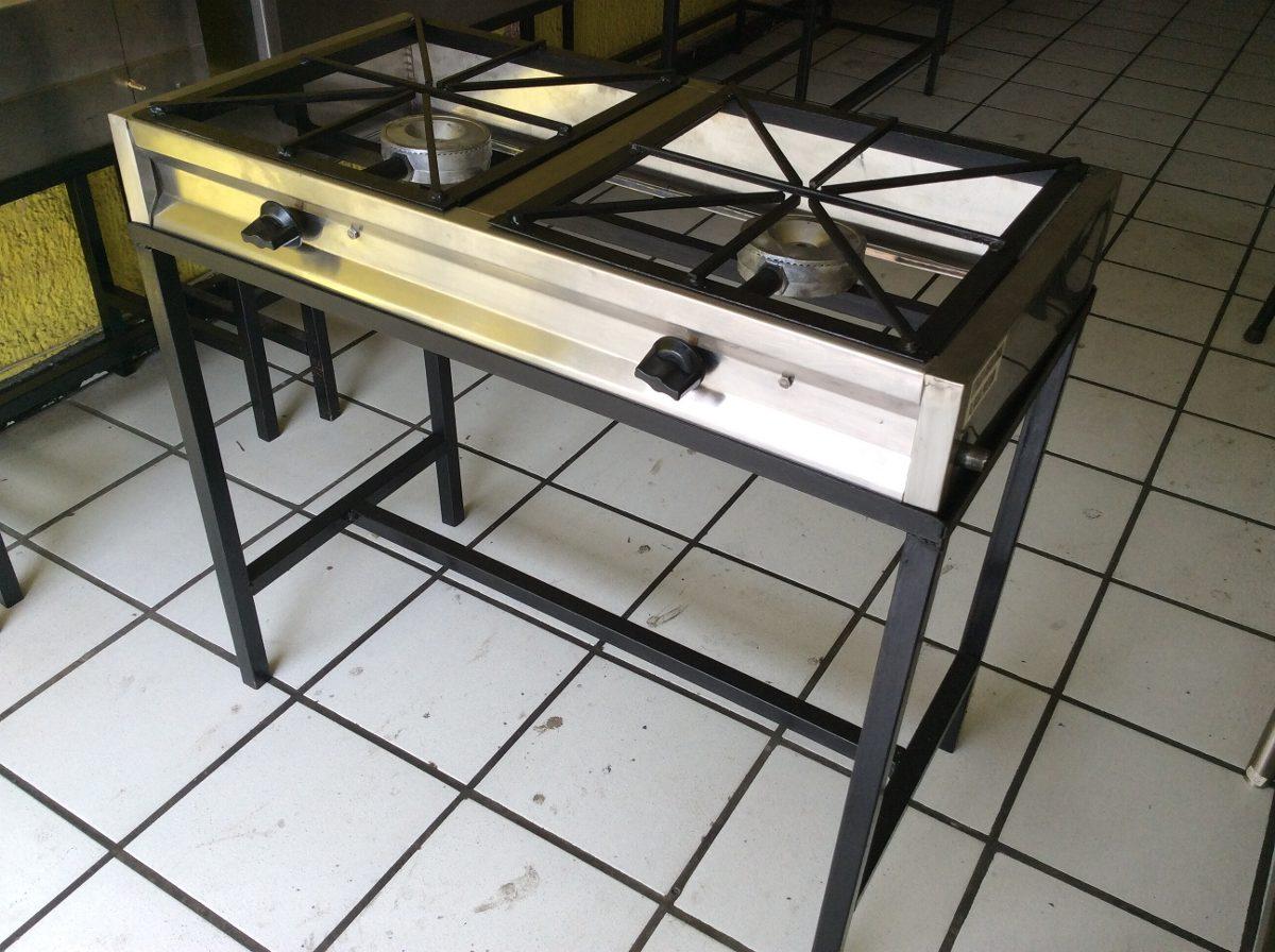 Estufa industrial parrilla estufon 2 en mercado for Estufa industrial precio