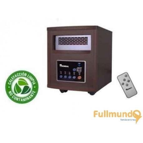 estufa infrarojo de madera garantia / fullmundo