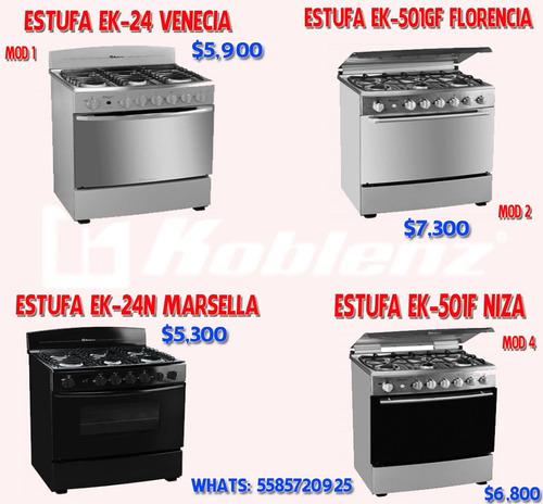 estufa koblenz ek-24 venecia nueva!!!!