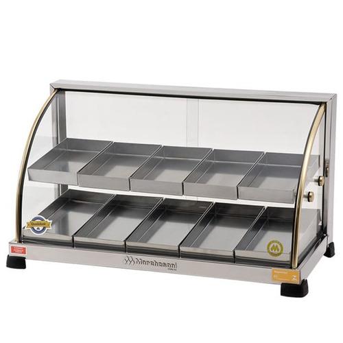 estufa para salgad 10 bandeja ouro marchesoni c/ nf garantia