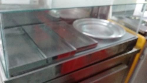 estufa para salgado e pizza