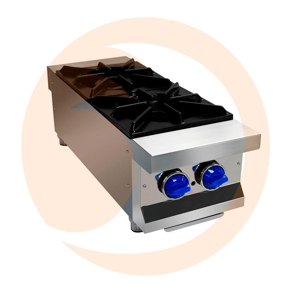Estufa parrilla industrial de 2 quemadores san son ss 2q x for Estufa industrial precio